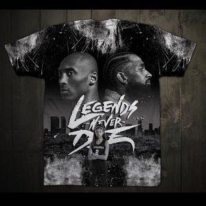Custom Kobe and Gigi t-shirt